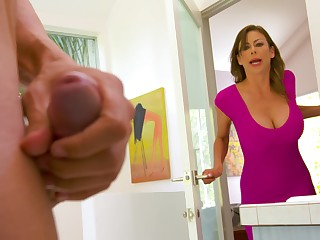 Spotting her son's affiliate masturbating in be got rid of